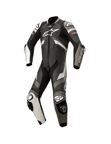 MONO ALPINESTARS GP PLUS V3 PROFESSIONAL BLACK / WHITE / METALLIC GRAY