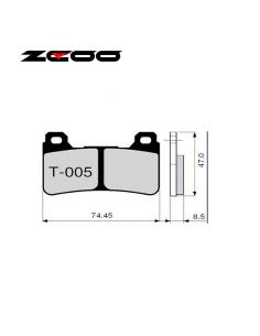 Pastillas de freno ZCOO T005 EXC (ENDURANCE)