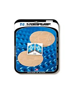 STOMPGRIP Kit adhesivos ovalados UNIVERSALES para moto
