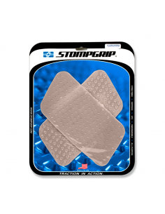 STOMPGRIP Kit adhesivos rectángulares UNIVERSALES para moto