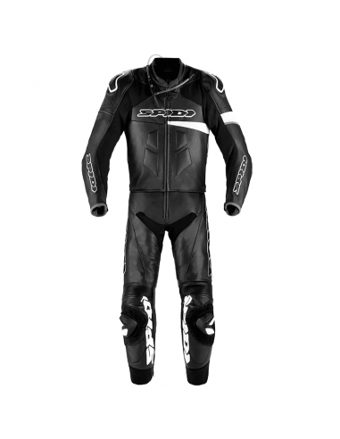 MONO SPIDI RACE WARRIOR TOURING NEGRO-BLANCO