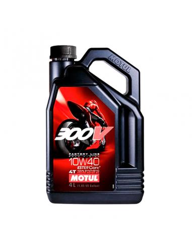 Aceite MOTUL 300V FL Road Racing 10w40 4L 4T