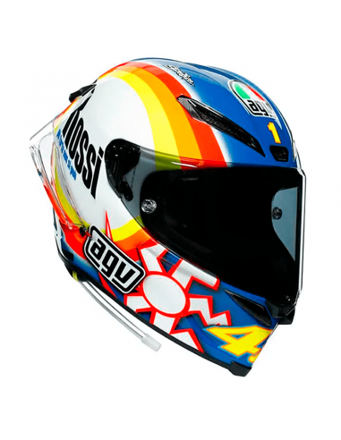CASCO AGV PISTA GP RR ROSSI WINTER TEST 2005 LIMITED EDITION