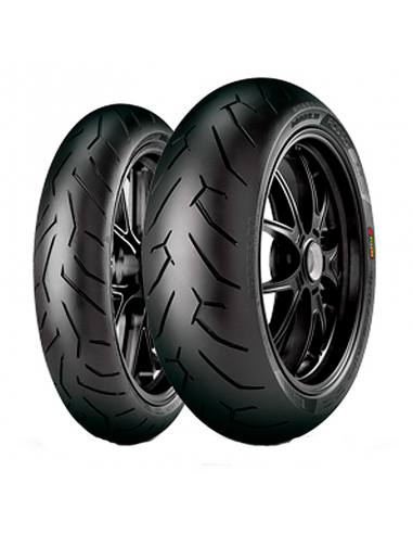 Neumáticos PIRELLI DIABLO ROSSO 2 120/70-17+190/50-17