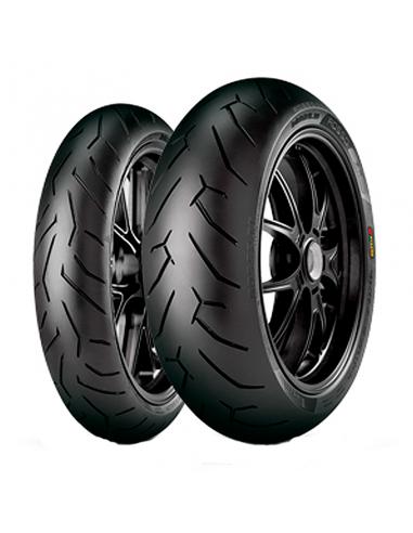 Neumáticos PIRELLI DIABLO ROSSO 2 120/70-17+180/55-17